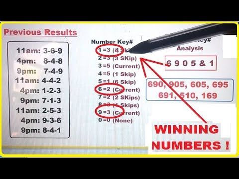 Daily Results Today - YouTube | Winning lottery numbers
