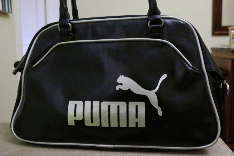 Bolsa Puma Preta