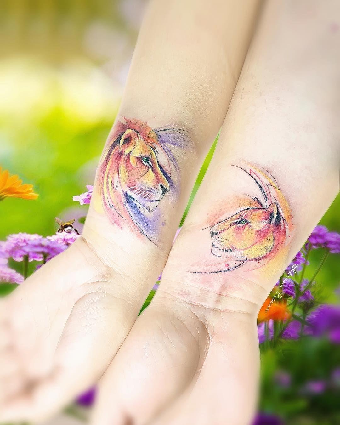 Photo of Impresionantes tatuajes de acuarela de Adrian Bascur
