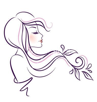 Theme, woman vector art help