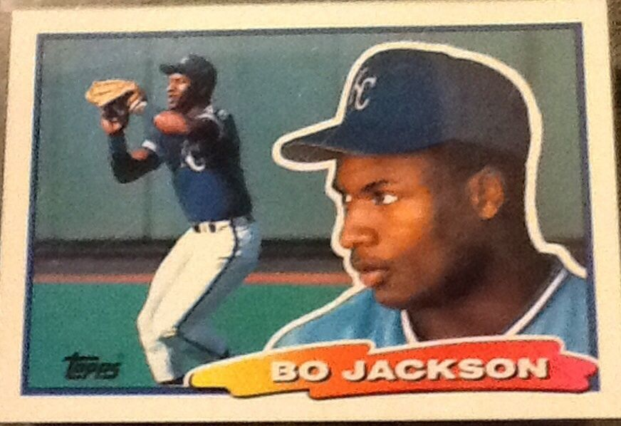 1988 Topps Big 49 Bo Jackson Nm Mt Kansas City Royals