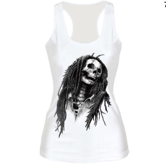 Bob Marley Tank ❤️ Bob Marley tank top. Can fit up to medium. Tops Tank Tops