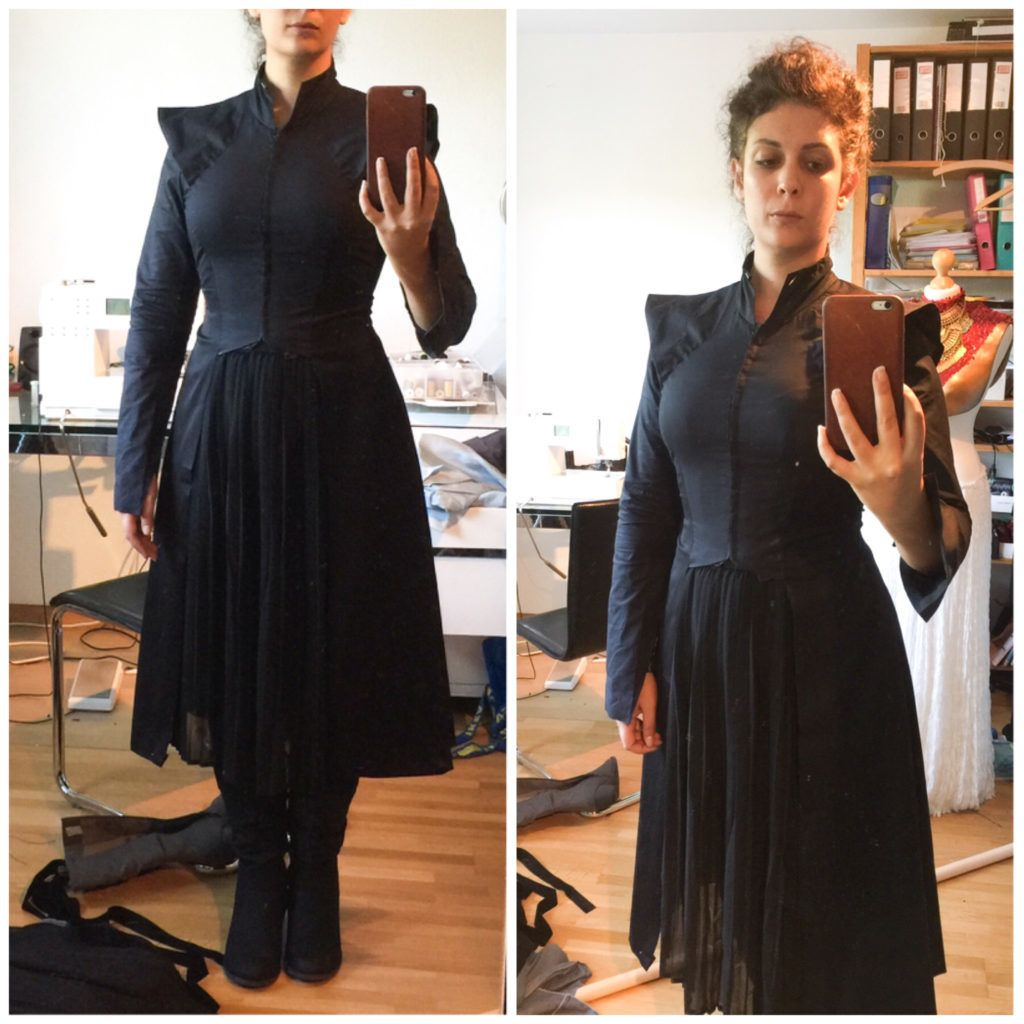 Daenerys Silver Black Season 7 Dress Tutorial Steampunk Cosplay