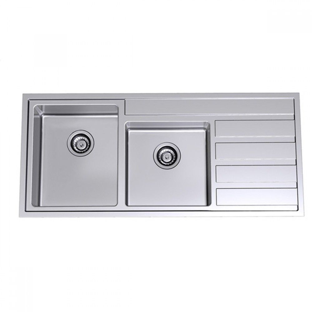 Pete Evans 1.75 Bowl Over/Undermount Kitchen Sink | Kitchen ...