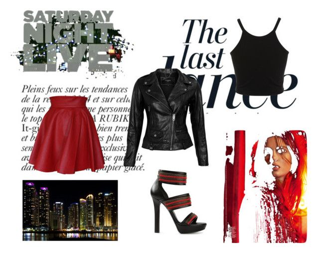 """""""Saturday Night"""" by rozisgold on Polyvore featuring Anja, Funlayo Deri, Alexander McQueen, VIPARO and Miss Selfridge"""