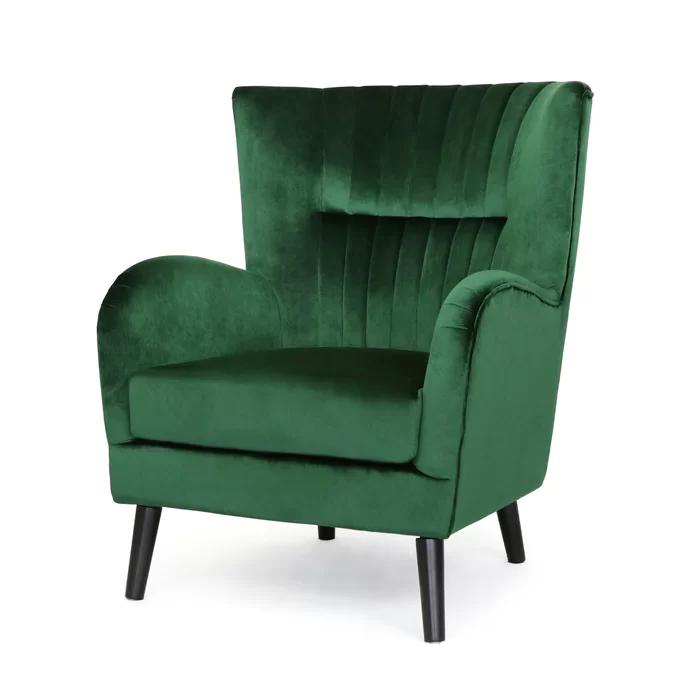 21++ Dark green wingback chair inspirations