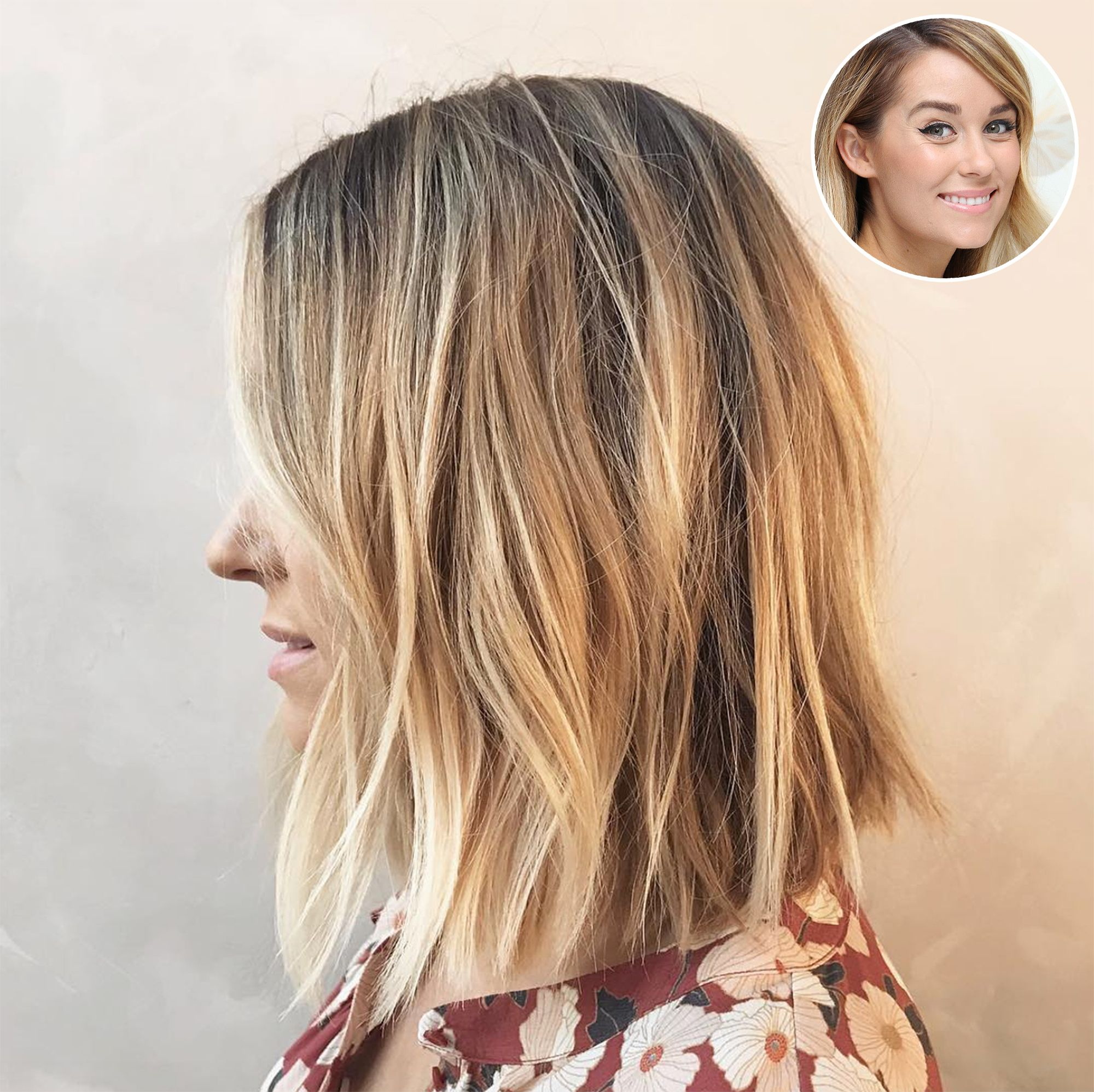 Lauren Conrad Explains Her Recent Dramatic Haircut I Don T Have Time For A Lot Of Hair Hair Styles Thick Hair Styles Lauren Conrad Hair