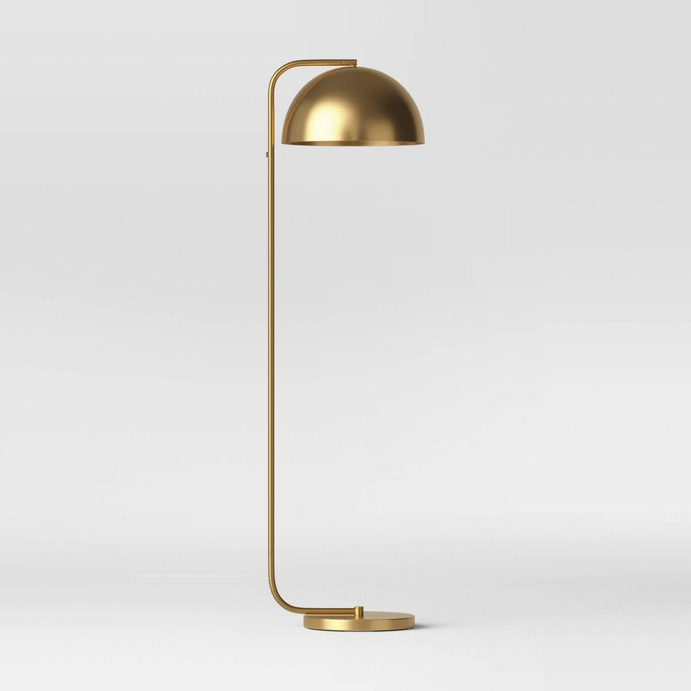 Valencia Led Floor Lamp Brass Includes Energy Efficient Light