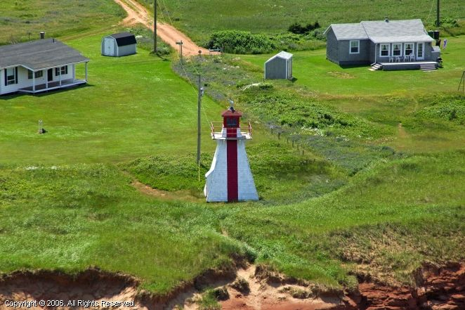 Malpeque Outer Range Front Light, Lower Darnley, Prince Edward Island
