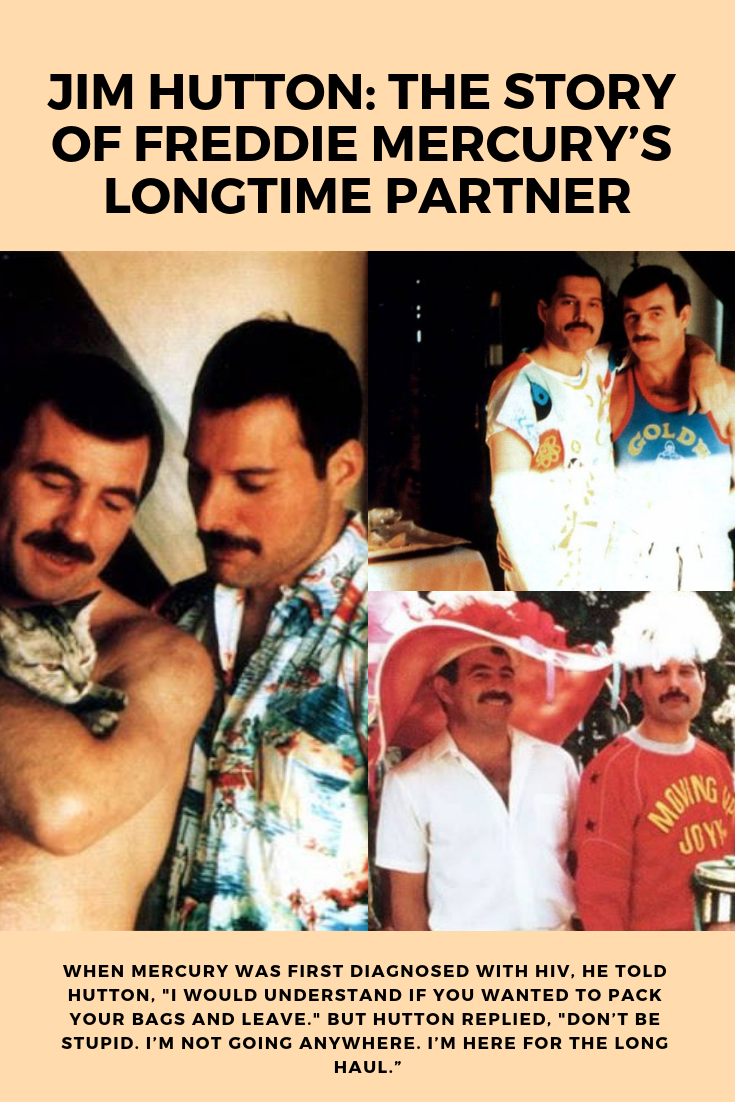 61225c6651f9 Discover the true story of Jim Hutton and Queen singer Freddie Mercury's  relationship that was only