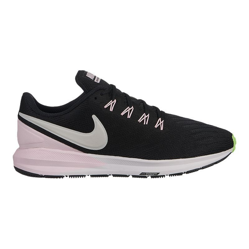 Nike Women's Air Zoom Structure 22 Running Shoes Black