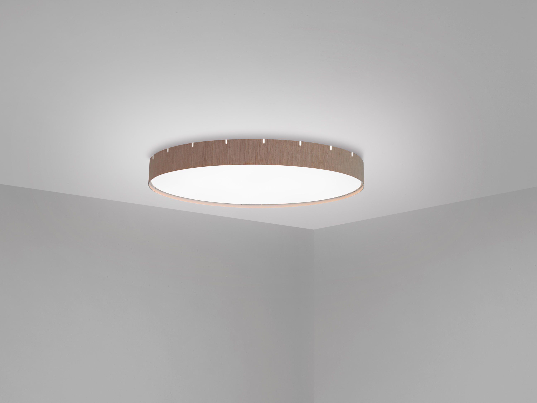 Plaf N Led De Aluminio Con Forma Circular Y Difusor De Pmma  ~ Plafones Fluorescentes Para Cocina