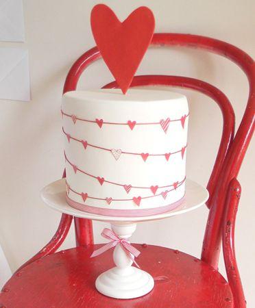 San valentin cake
