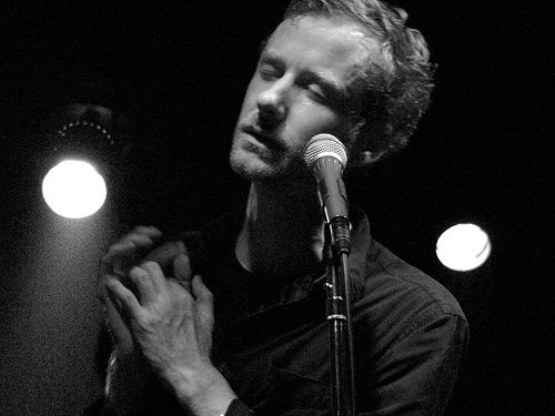 """""""you made a slow disaster out of me.""""  swoon-worthy lyrics and an amazing voice-- I'm done in.  {matt berninger, the national}"""