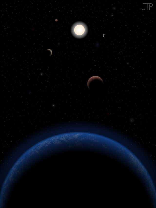 Astronomers Have Discovered What They Believe Is A Five Planet