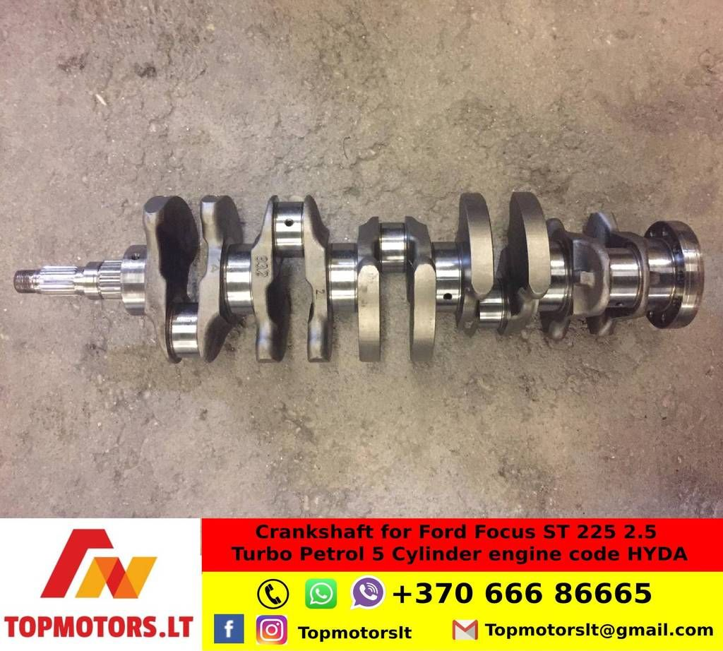 Crankshaft for Ford Focus ST 225 2.5 Turbo Petrol 5