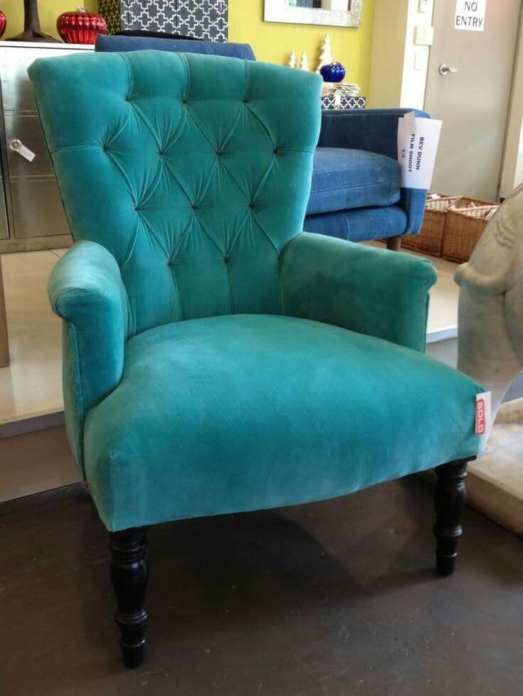 Turquoise Armchair Turquoise Furniture Turquoise Chair