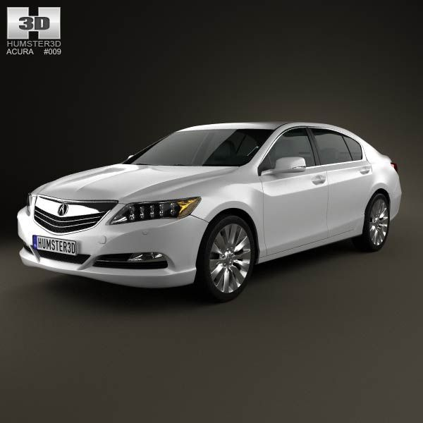 Acura Rlx: Acura RLX 2013 3d Model From Humster3d.com. Price: $75