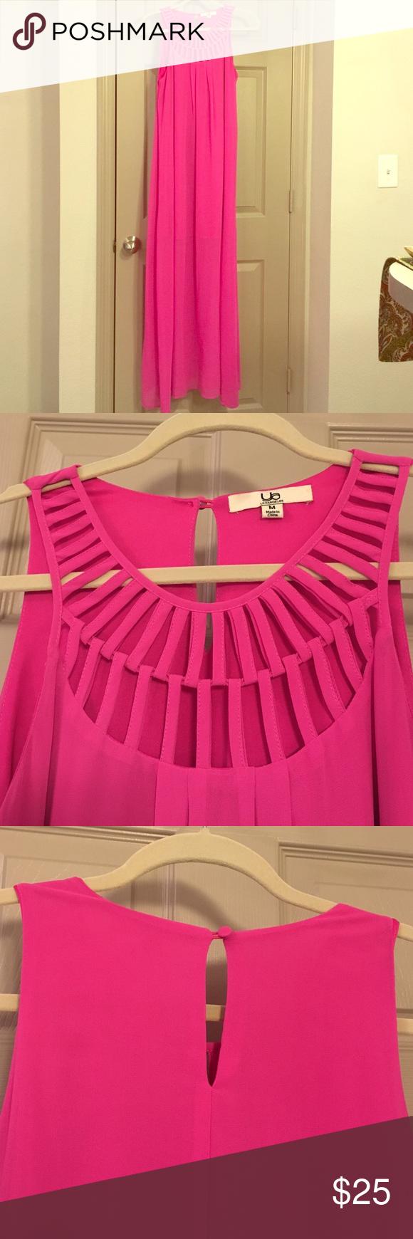 Hot pink color dress  Hot Pink Maxi Dress  Pink maxi Hot pink and Maxi dresses
