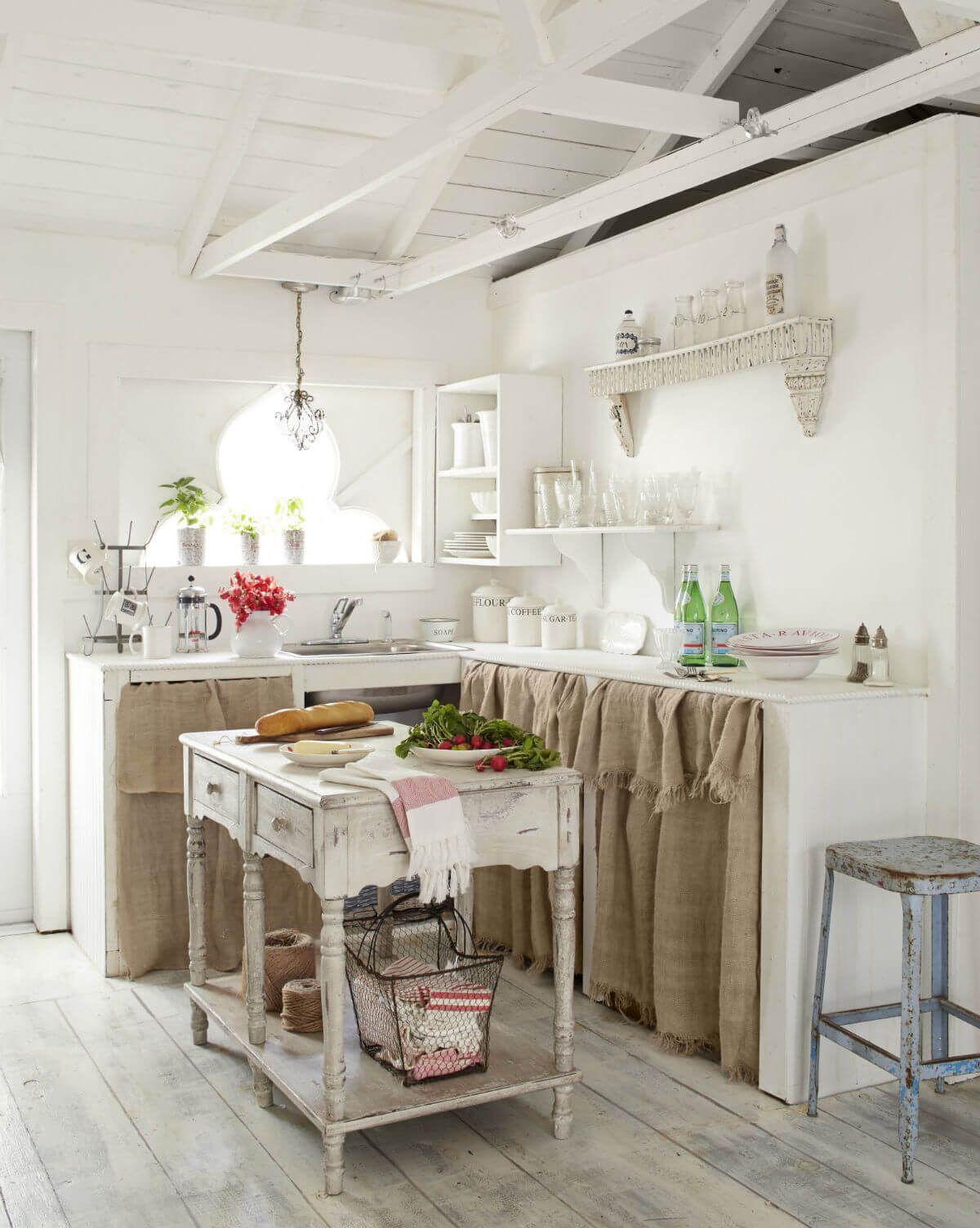 15 Unique Kitchen Cabinet Curtain Ideas for an Adorable Home Decor