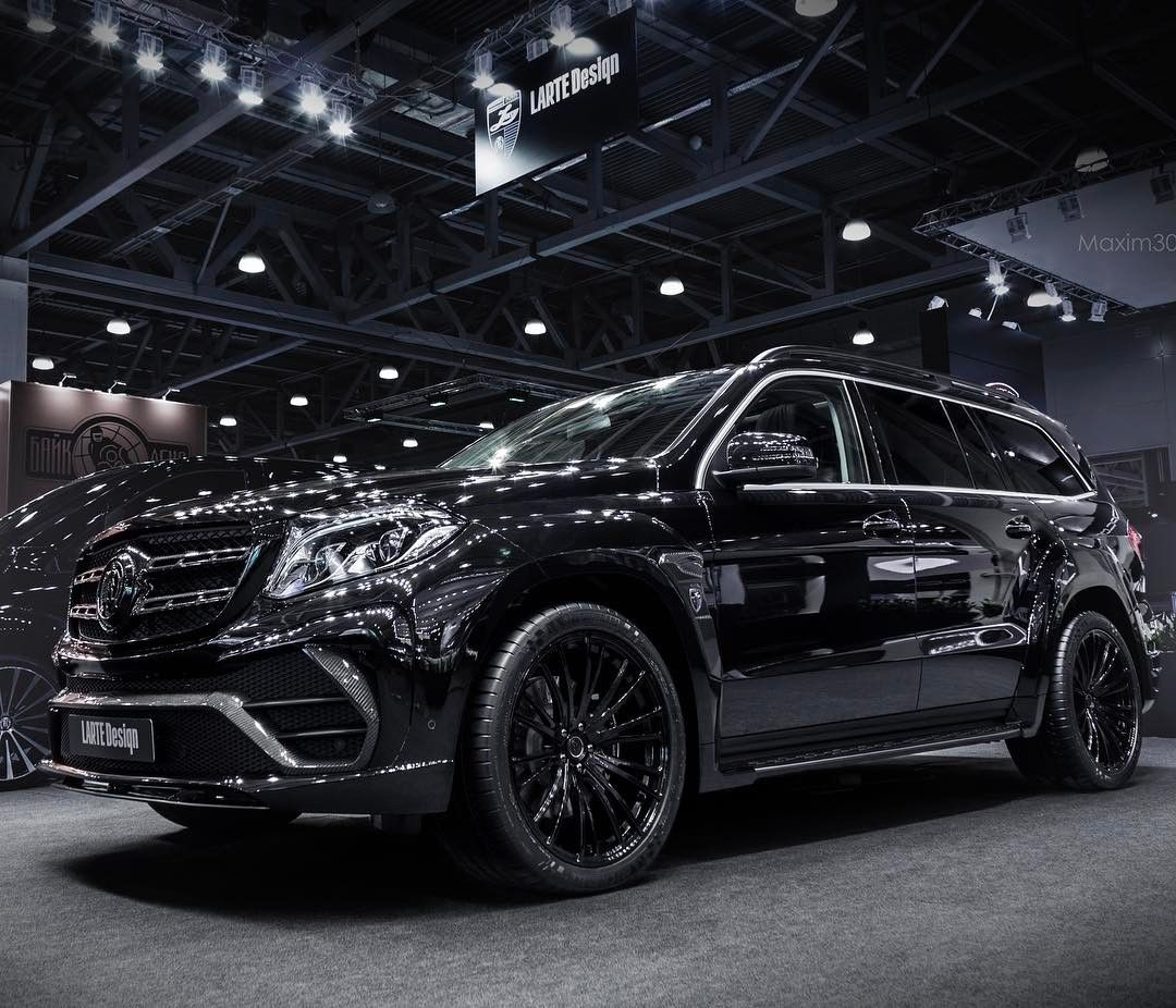 @lartedesign Mercedes GLS Black Crystal Tuning Package. The Modified SUV Is  Designed For Demanding And Discerning Buyers Who Want To Distinguish Their  Car ...