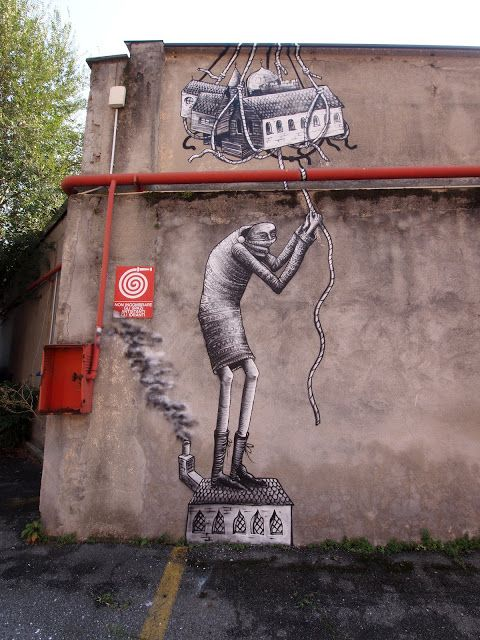 Artist goes by the name of Phlegm
