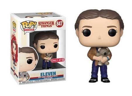 Stranger Things Funko Pop Eleven With Teddy Bear Millie Bobby Brown Season 3 Ta Stranger Things Funko Pop Stranger Things Merchandise Stranger Things Merch