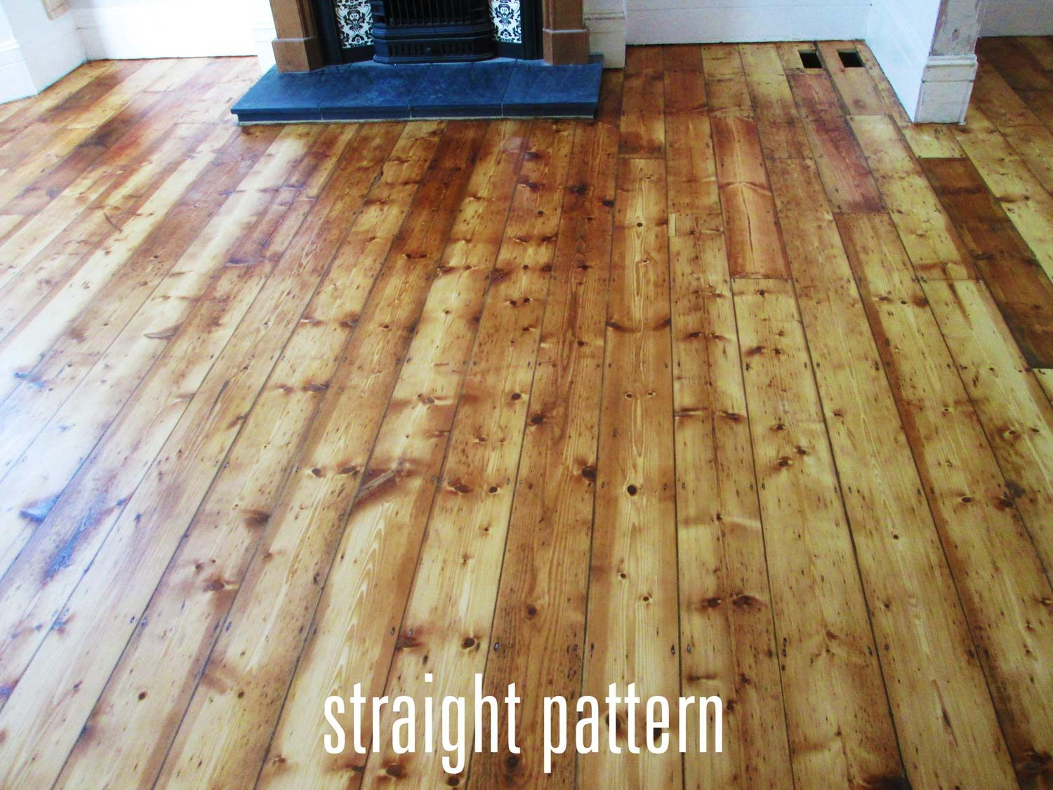 Straight Wood Floor Pattern Wood Floor Pattern Farmhouse