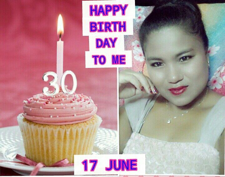 Today my birthday