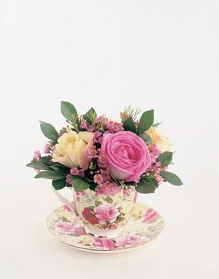 flowers in a tea cup flowers pinterest tea cup teas and cups