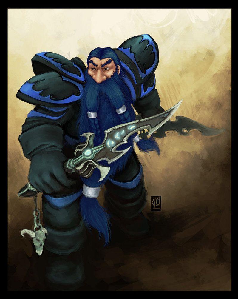 Darkmantle Dwarf rogue Bousi by ~Lihony on deviantART