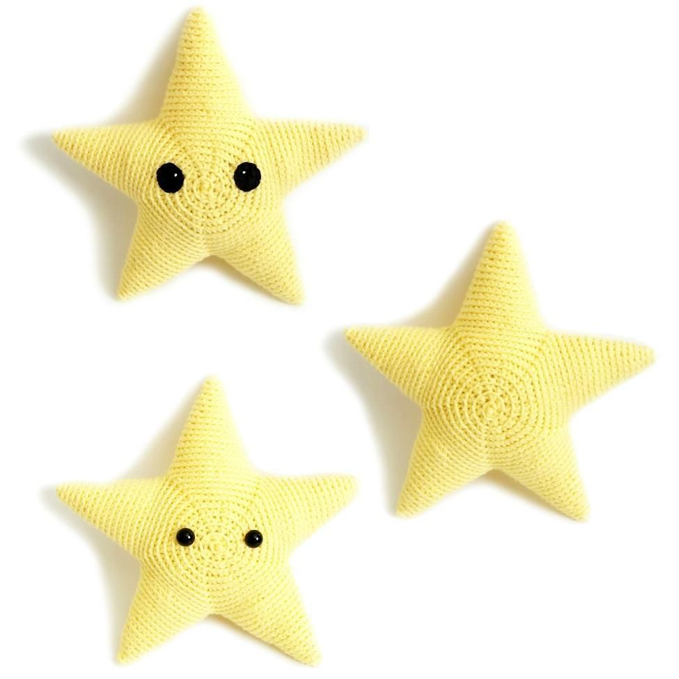 FREE crochet pattern: Sterling the Star by Monster\'s Toy Box ...