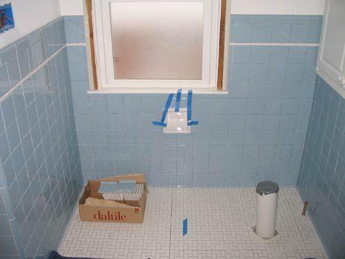 Matt Jeff S Timeless Blue Tile Bathroom Remodel Blue Bathroom Tile Blue Tile Wall Tile Bathroom