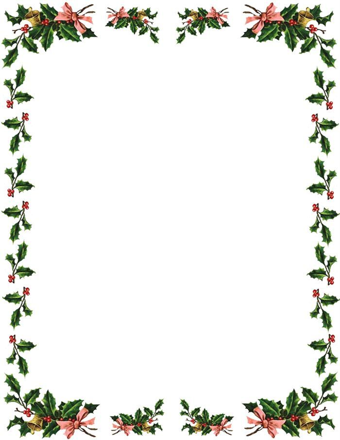 Free Christmas Borders And Frames For Word images s0bCbDd9 ...
