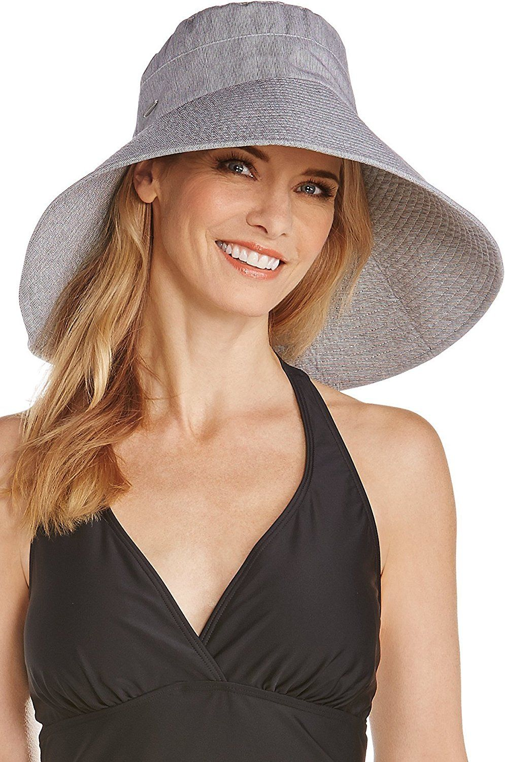 5b10555ef00 Coolibar UPF 50 Women s Beach Hat - Sun Protective    For more information