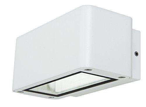 Applique beacon ledlux banff 230408 colore bianco protezione ip54