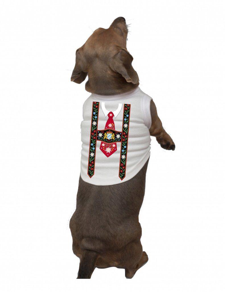 German Dog T Shirt Lederhosen Lederhosen Dog Shirt
