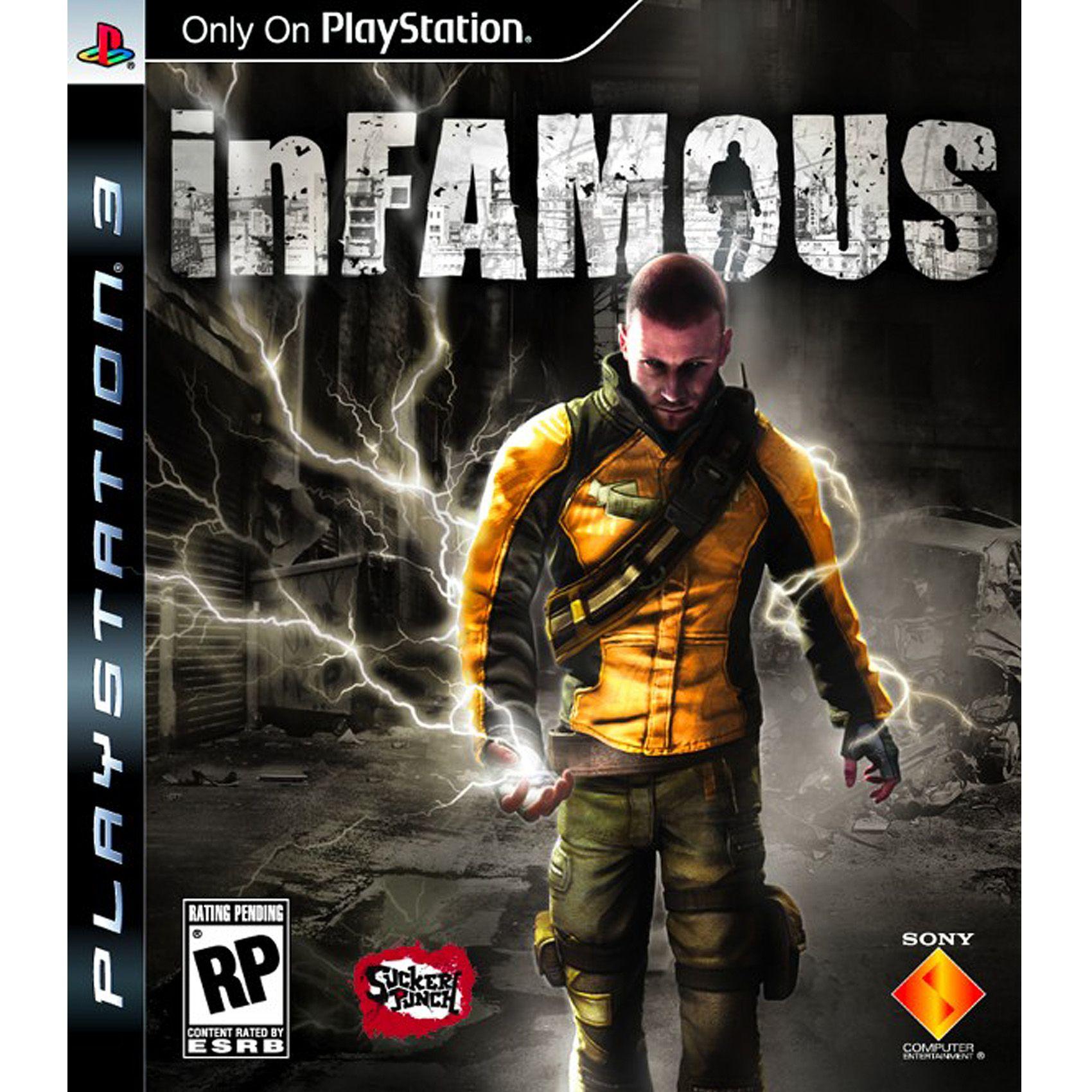 Infamous Ps3 Jogos Ps3 Game Produtividade
