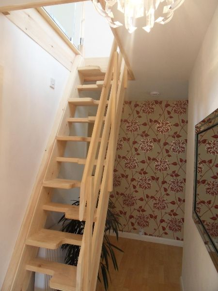 Space Saving Stairs Attic Rooms Small Attic Room Attic Renovation