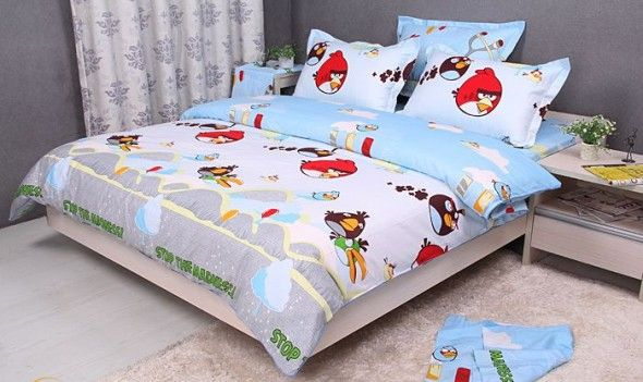 Here Is Amazing Angry Birds Bedroom Decor And Design Theme Ideas For Kids Photo Collections At Catalogue More Picture