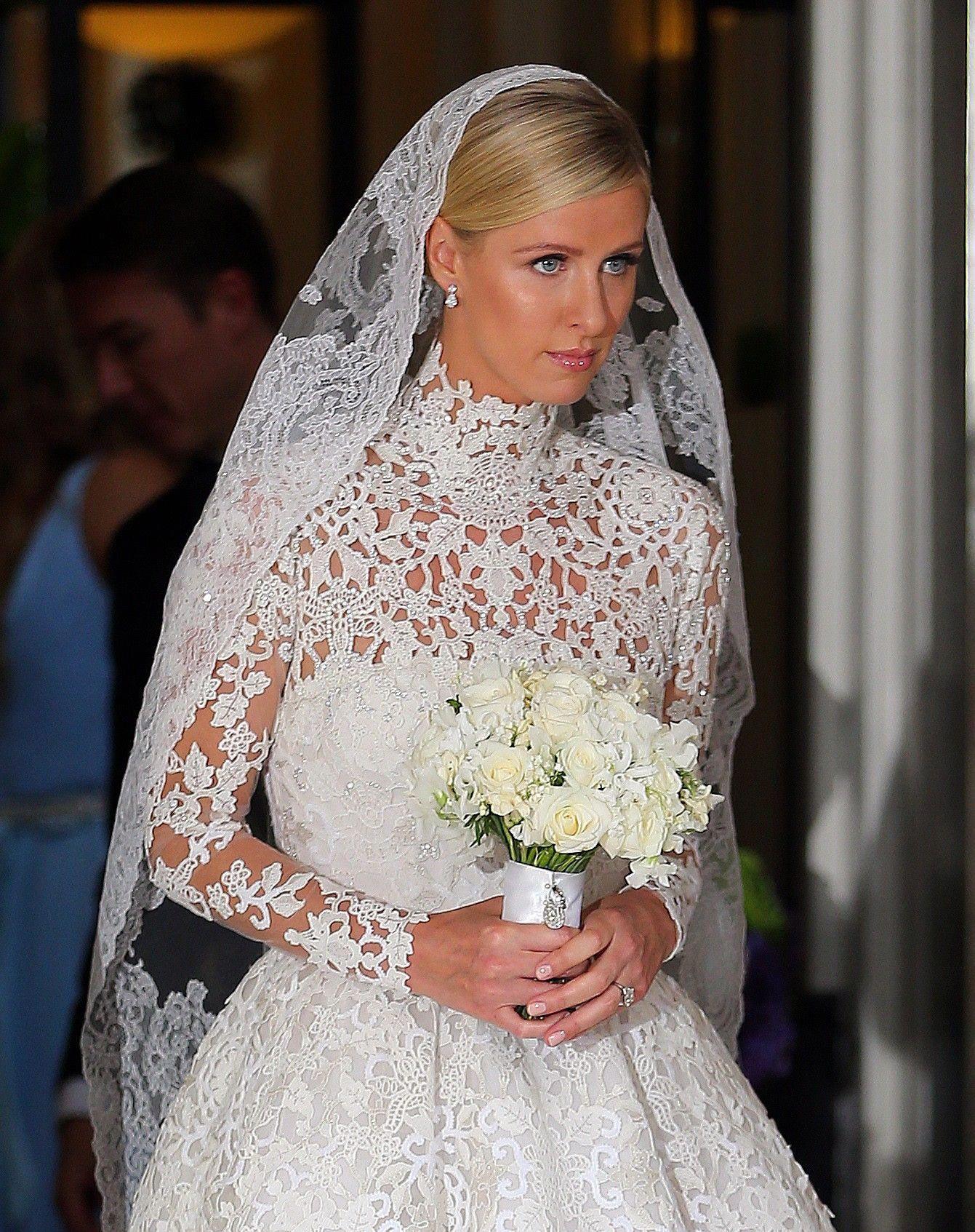 Valentino wedding dress  Nicky Hilton stunned in her Valentino Wedding Dress Valentino