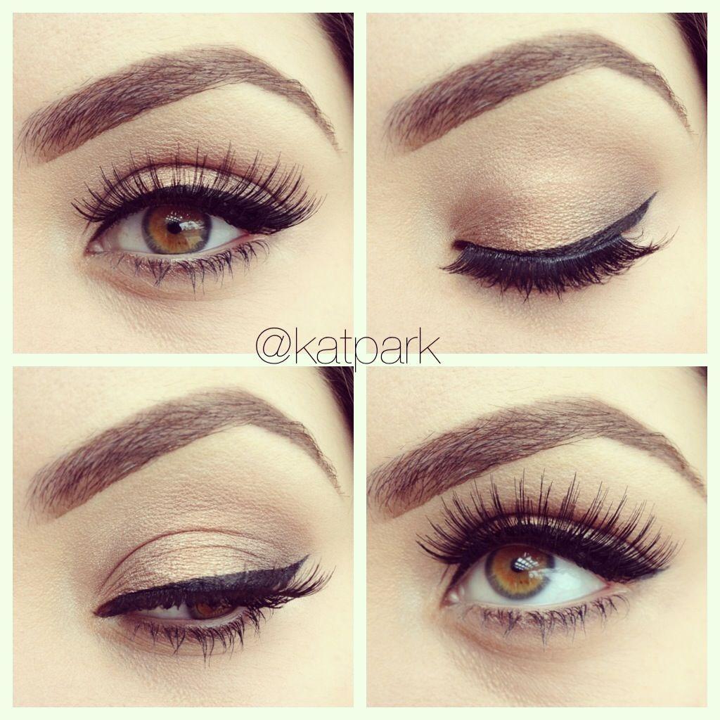 Simple And Natural Eye Makeup For Brown Hazel Eyes Elif