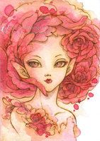 Rose Fairy 2 by aruarian-dancer on deviantART