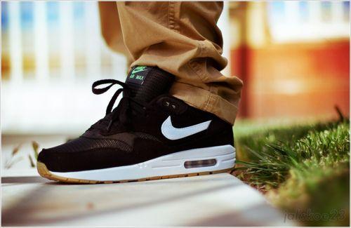 Nike air max 1 x patta #4 Blackwhite lucky green | Cali030