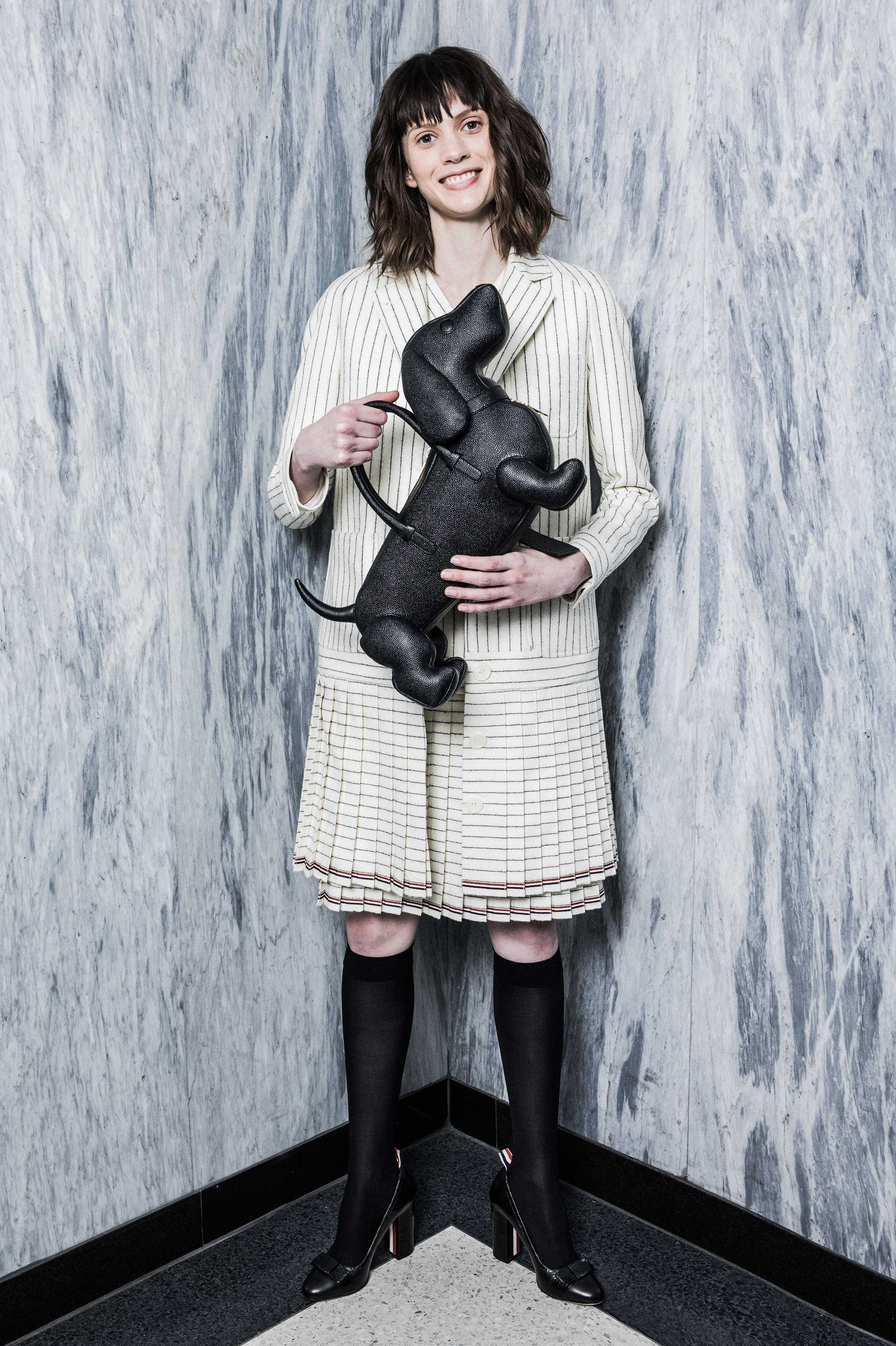 See the complete Thom Browne Pre-Fall 2016 collection.