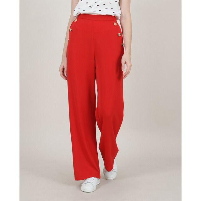 Photo of Molly Bracken – Pantalone button down da donna Flowy
