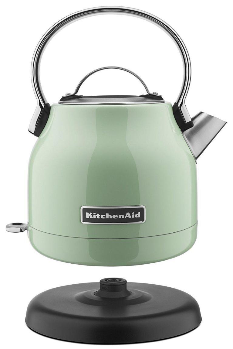 Kitchenaid 125liter electric kettle pistachio best offer