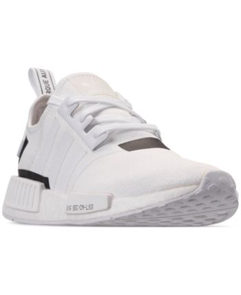 7c1a13332 adidas Men s Nmd R1 Casual Sneakers from Finish Line - White 11