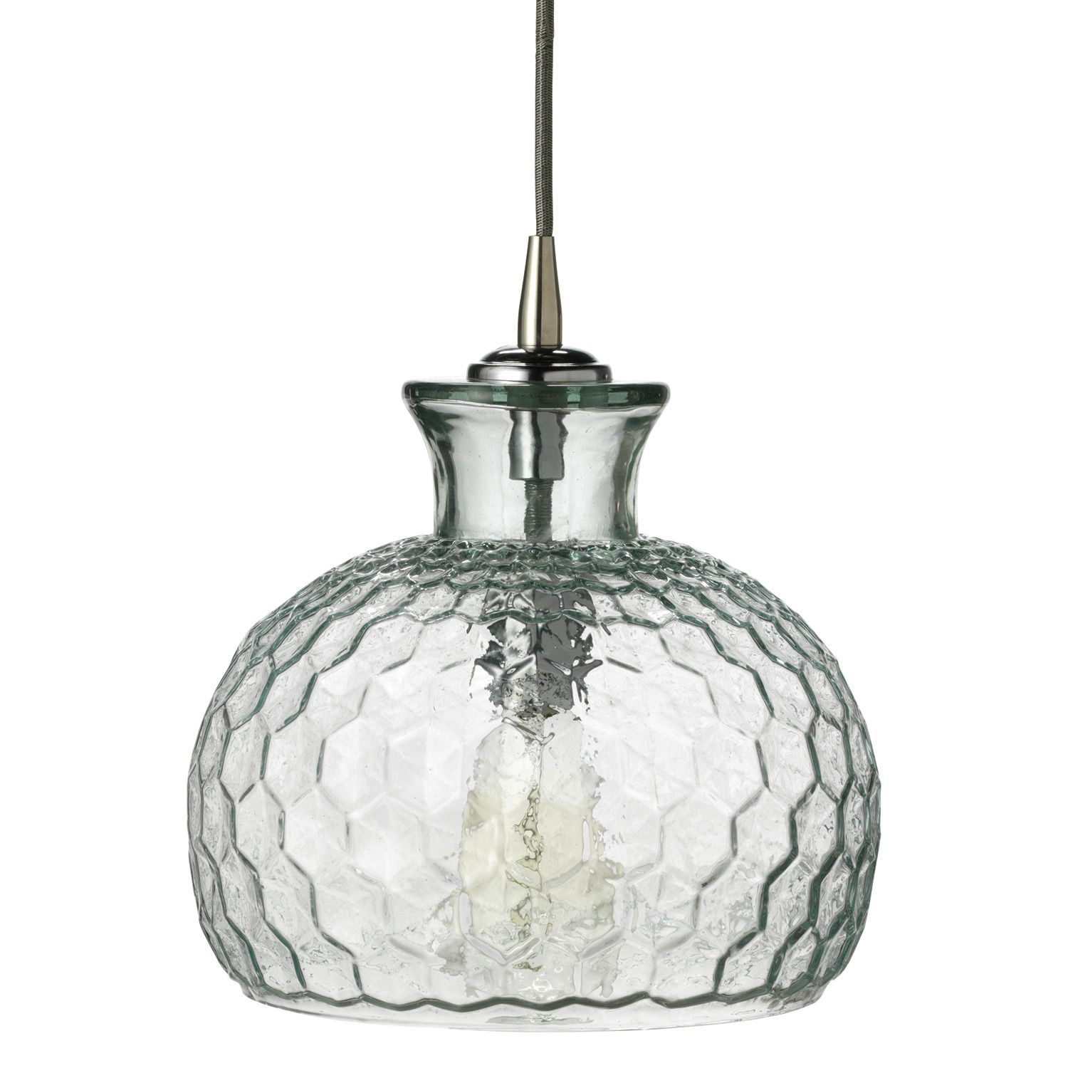Jamie Young Lighting Pendant Clark Clear Laylagrayce