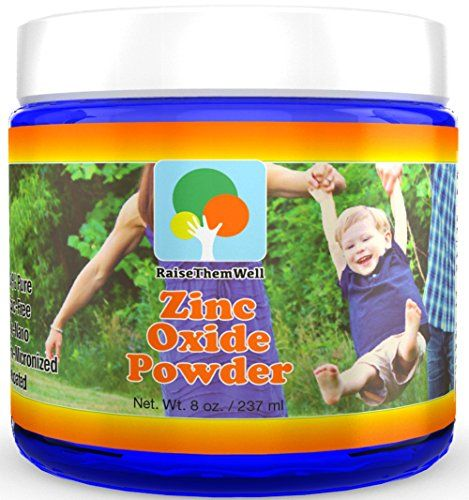 Kid-Safe Zinc Oxide Powder. Lead Free. 100% pure, non-nano, non-nicronized, uncoated, cosmetic grade powder. Largest particle size makes it perfect for kids and adults. Great for sunscreens, acne creams, diaper creams, and more. Satisfaction guarantee Raise Them Well http://smile.amazon.com/dp/B012HCV5DO/ref=cm_sw_r_pi_dp_YUFrwb1AC434E